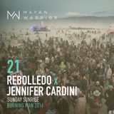 Rebolledo x Jennifer Cardini - Mayan Warrior - Sunday Sunrise - Burning Man