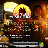 SUNSET EMOTIONS 029.3 (02/04/2013) - Special Guest ANDREA CECCHINATO