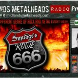 Route 666 03.04.17 Monsters of Rock featuring tracks from the biggest names in Rock and Metal