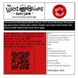 The Illicit Grooves Radio Show Friday 12th July 2019