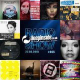 DEEPINSIDE RADIO SHOW 065 (Stephanie Cooke Artist of the week)