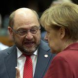 Martin Schulz kontrkandydatem Merkel o fotel kanclerza