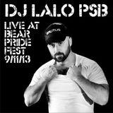 Lalo PSB @ Live at Bear Pride Fest - 9/11/2013