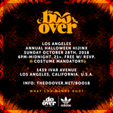 Steve1der @ The Boo-Over Los Angeles (10.28.18)