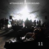 AFTERHOURS UNDERGROUND 11 Mixed by Buddhafish