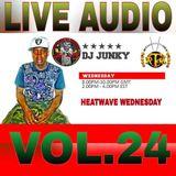DJJUNKY HEATWAVE WEDNESDAY ON @RTMRADIO_NET LIVE AUDIO VOL.24