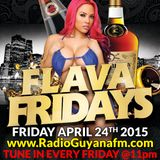 Flava Fridays April 24th 2015 | Tropic Flava - DJ S One