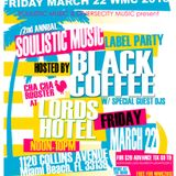 RiskSoundSystem live - Soulistic Music Label Party by Black Coffee - WMC Miami 22-03-2013