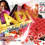 PART 2 LADY VEE B DAY BASH - 27-9-14, STREETLIFE, LEICESTER