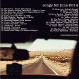 SONGS FOR JUNE 2014