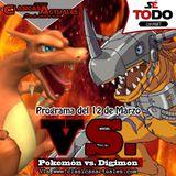 Sé Todo con MaTT #73 - 2015/03/12 - Versus: Pokémon vs. Digimon