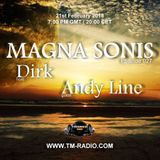 Andy Line - Guest Mix - MAGNA SONIS 027 (21st February 2018) on TM Radio