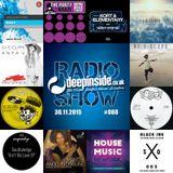 DEEPINSIDE RADIO SHOW 088 (DJ E-Clyps Artist of the week)