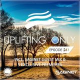 Ori Uplift - Uplifting Only 261 (incl. Saginet Guestmix) (Feb 8, 2018) [All Instrumental]