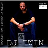 DJ TWIN - PODCAST FOR TECHNO INVASION