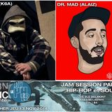 #LECYPHER WEEK 6 2014/11/13 // P.DOX + DR MAD // hip-hop & soul jam session