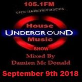 Opentempo Underground House Music Mix Show 09/09/2018