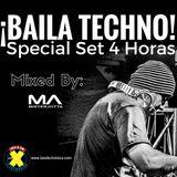 MisterJotta - Special Set 4 Horas ¡BAILA TECHNO!, Febrero 2017.