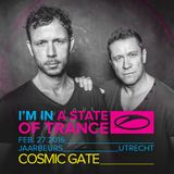 Cosmic Gate - 15 Years & Counting Stage (Utrecht, Netherlands) – 27-FEB-2016