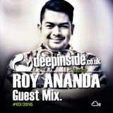 ROY ANANDA is on DEEPINSIDE