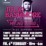 Supporting Julio Bashmore/My Nu Leng @ Zeus 06.02.2015