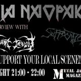 intervjui Svart Crown i Suffocation, novi Shizofrenia, Ashen Epitaph