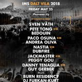 Danny Tenaglia b2b Guy Gerber - Live @ IMS Dalt Vila, Ibiza (25.05.2018)