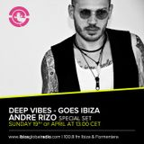 Deep Vibes - Guest Andre Rizo - 19.04.2015