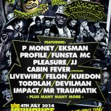 Voltage/Cabin Fever with Flyin Squad - Nutcracka - Gumster - Mr Kidd - Jam 1