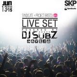 Live set: Syndicate Set x Project Bristol 13-6-15