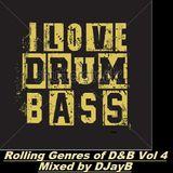 Rolling Genres of Drum & Bass Vol 4