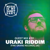 MIMS Guest Mix: URAKI RIDDIM (Fine Grains Records, UK)