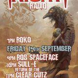 The Return of Clear-Cutz on Frightnightradio.net 14-9-18