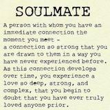 """SOULMATE"""