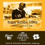 J Dilla Birthday Celebration on Vocalo Radio 91.1fm hosted by JDLP 2.7.17 (Hour 1) DJ Shon Dervis