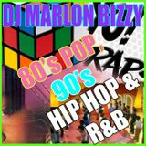 90's Hip Hop & 80's Pop Mix [www.djmarlonbizzy.com]