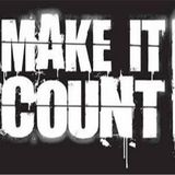 Make it count, Τετάρτη 31/05/2017