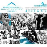 VALENTIN HUEDO / live broadcast from Bermuda boat party / 12.06.2012 / Ibiza Sonica