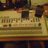 Dj Ké*seb Live Hardcore 30 minutes 100% TR909 Roland Drum Machine live act le 30.01.2013