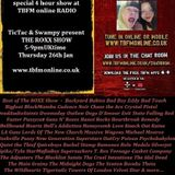 Last of The ROXX Show TBFMonline radio 26th Jan 4 hour special last show for TBFM