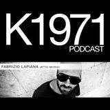 FABRIZIO LAPIANA (Attic Music) K1971 PODCAST (www.k1971.com)