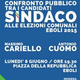 Confronto candidati Sindaco CUOMO - CARIELLO