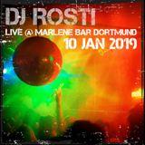 DJ Rosti - Live At Marlene Bar 2019-01-10