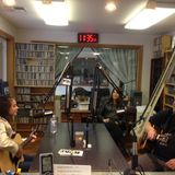 Alexis Stinnett & Tom Cole at KYAC. Alexis's firt radio interview as a singer. Debuting her new song