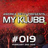 MY KLUBB #019 WEEK 05-2019
