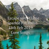 Escape with Elaine Sparkle FM Radio 13th February 2019