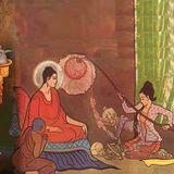 Monks lead a life of renunciation.