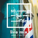 scheda live mix - adam / luty 2018