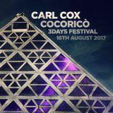 Carl Cox @ Cocoricò Riccione (Italy)  16-08-2017
