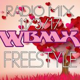 102.3 FM WBMX FREESTYLE RADIO MIX 11/3/17